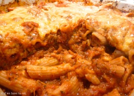 Penne and Sausage