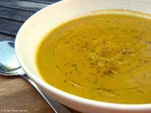 Pumpkin Sweet Potato Soup Thermomix