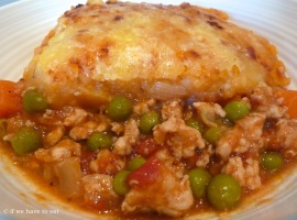 Chicken Cottage Pie 2