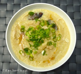 Chicken Mushroom Congee | Thermomix