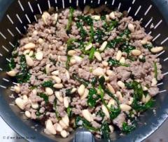 Pork Spinach Pine Nut filling 3