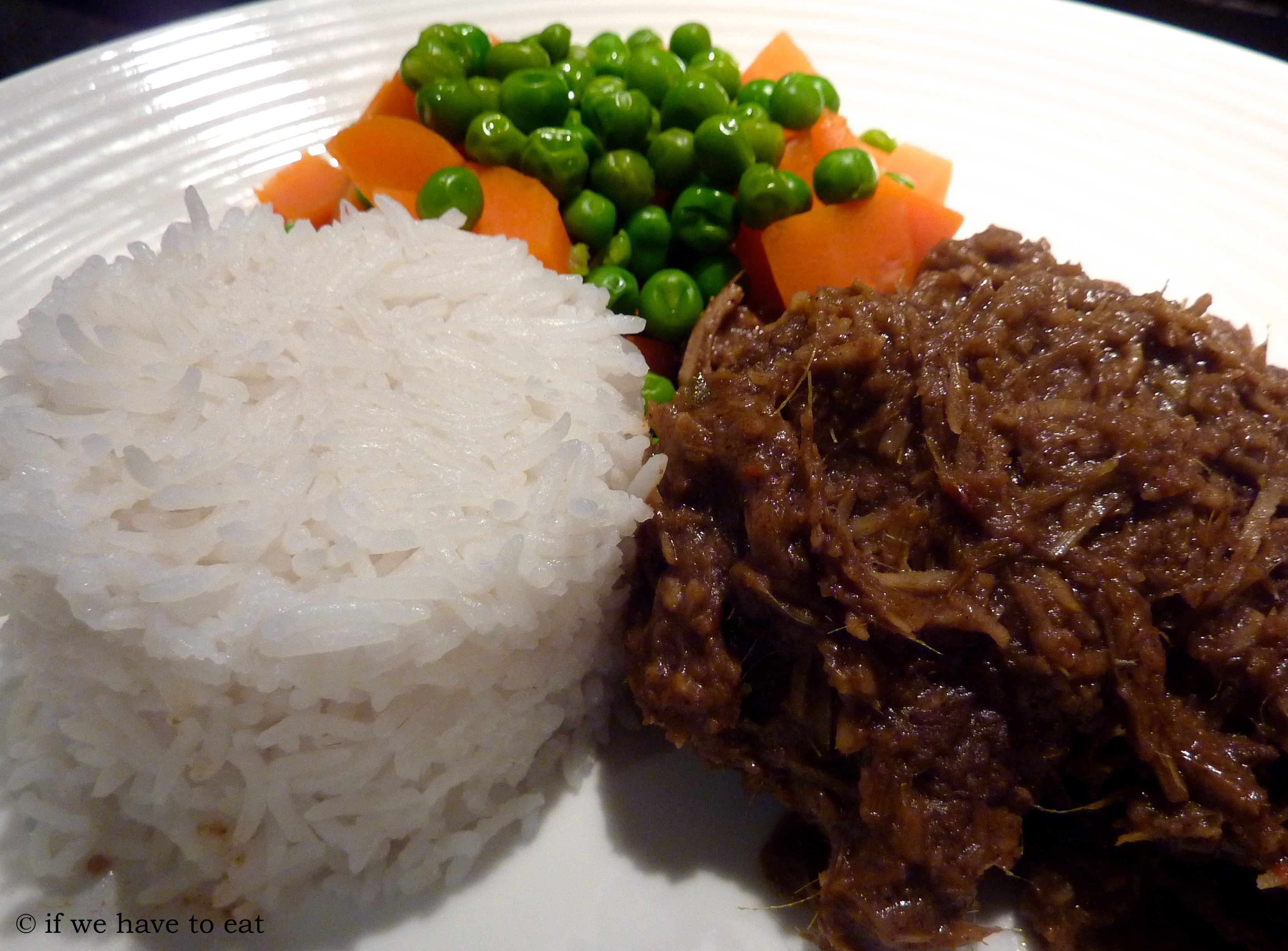Beef Rendang If We Have To Eat