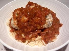 Chicken Meatballs Risoni Thermomix