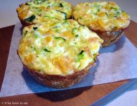 Zucchini Corn Cheese Frittata