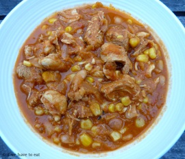 Mexican Chicken Stew