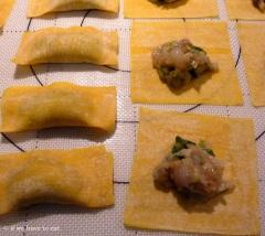 Prawn Dumplings Assemble