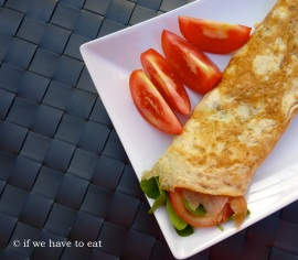 Egg Wrap Salmon