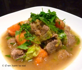 Irish Stew | Thermomix