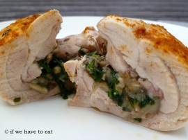 Stuffed Chicken Thighs V2 | Thermomix