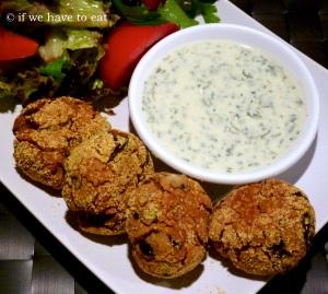 Eggplant Falafel | Thermomix