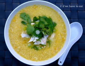 Chicken Corn Egg Soup | Thermomix
