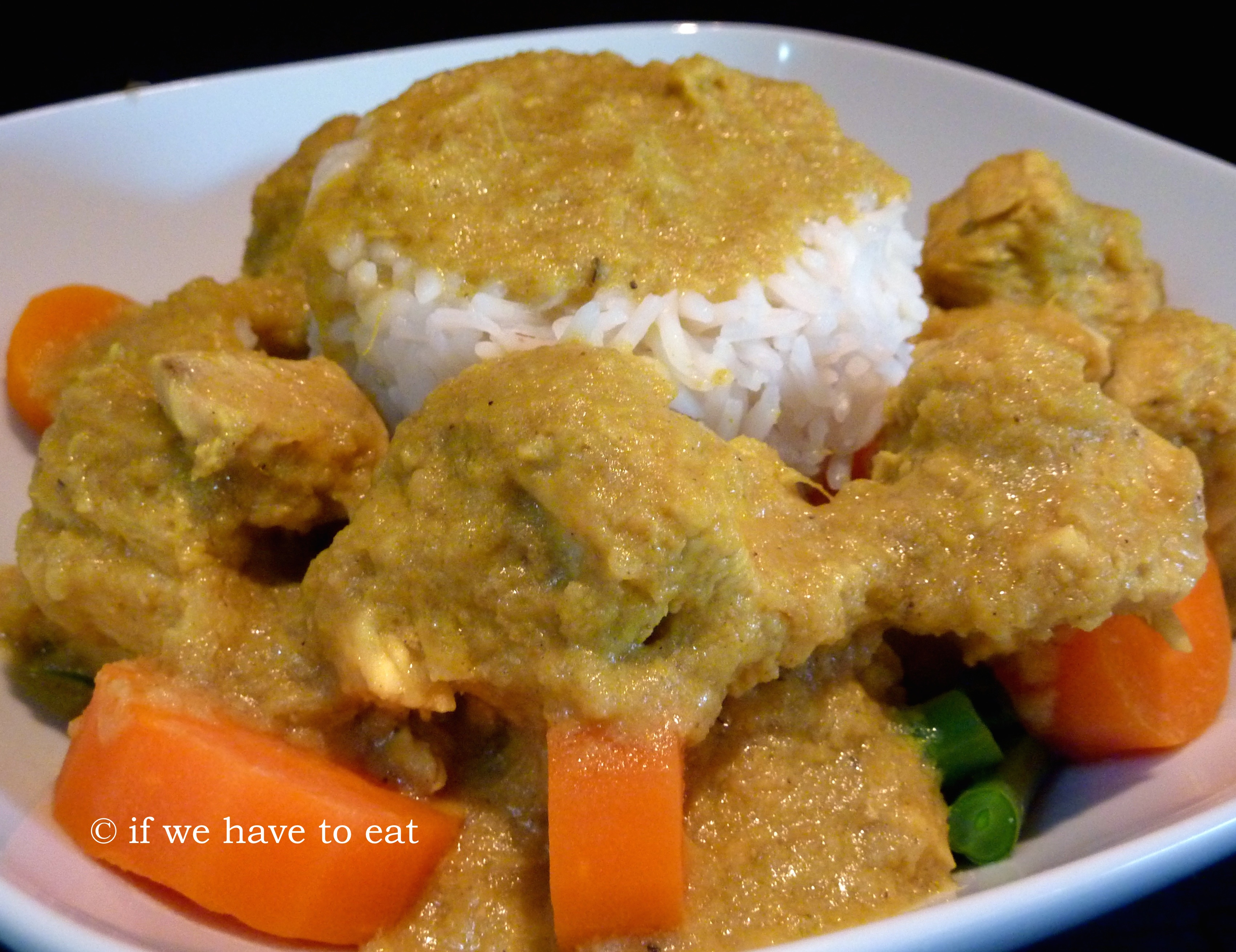 Chicken korma with vegetables if we have to eat ingredients chicken korma thermomix forumfinder Choice Image