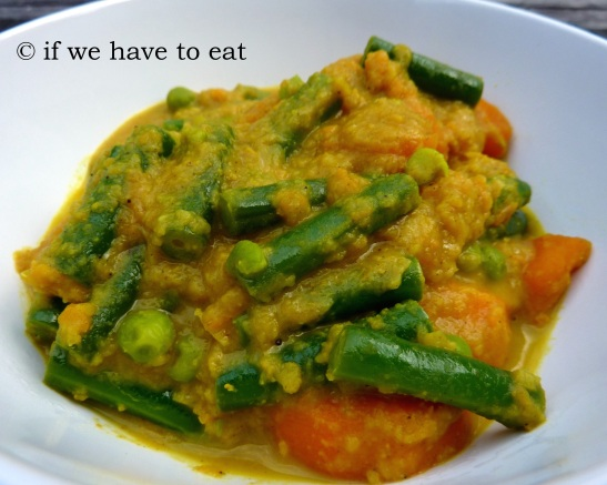 Vegetable Korma | Thermomix